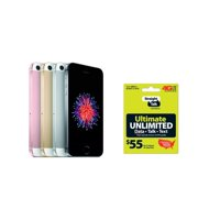 Apple iPhone SE 32GB Smartphone Straight Talk Refurb + $35 Airtime Card