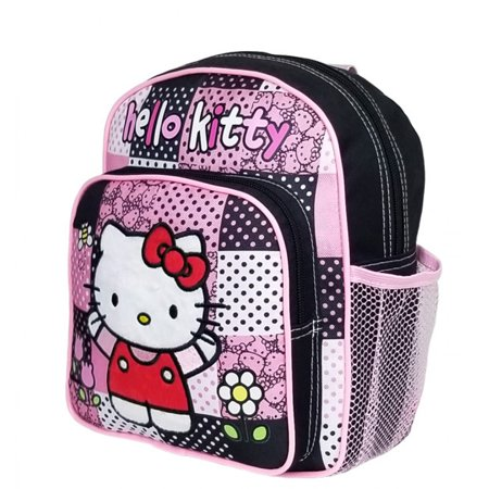 Hello Kitty Patch Black Mini Backpack #82513