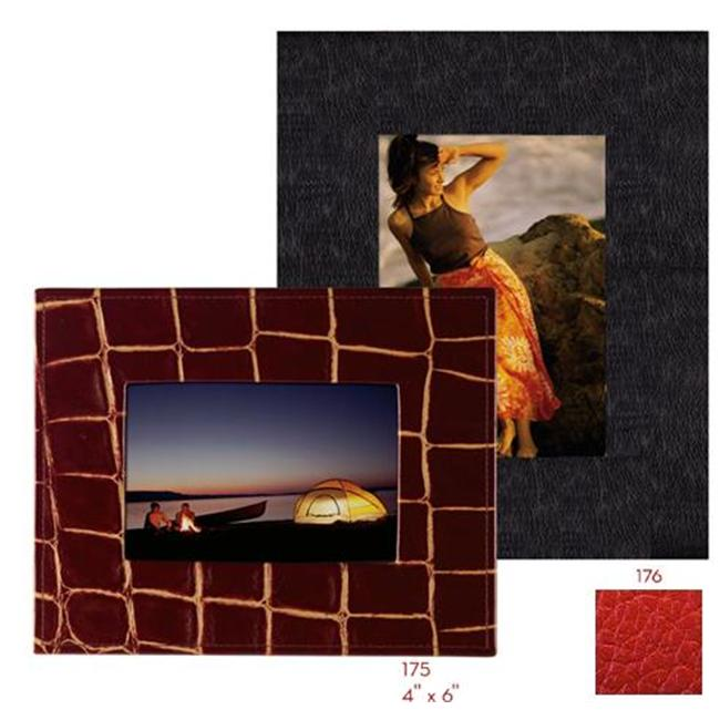 Raika RO 175 RED 4inch x 6inch Wide Border Frame - Red