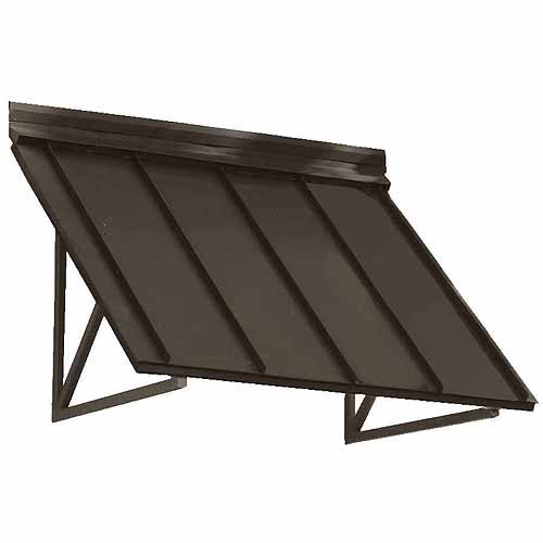 Arm Candy Houstonian Standing Seam Slope Awning