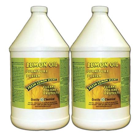 Lemon Oil Furniture Polish - Lemon oils, waxes,moisturizers - 2 gallon