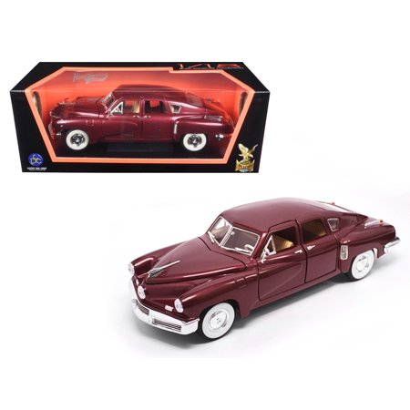 1948 Tucker Torpedo Burgundy 1/18 Diecast Model Car by Road Signature