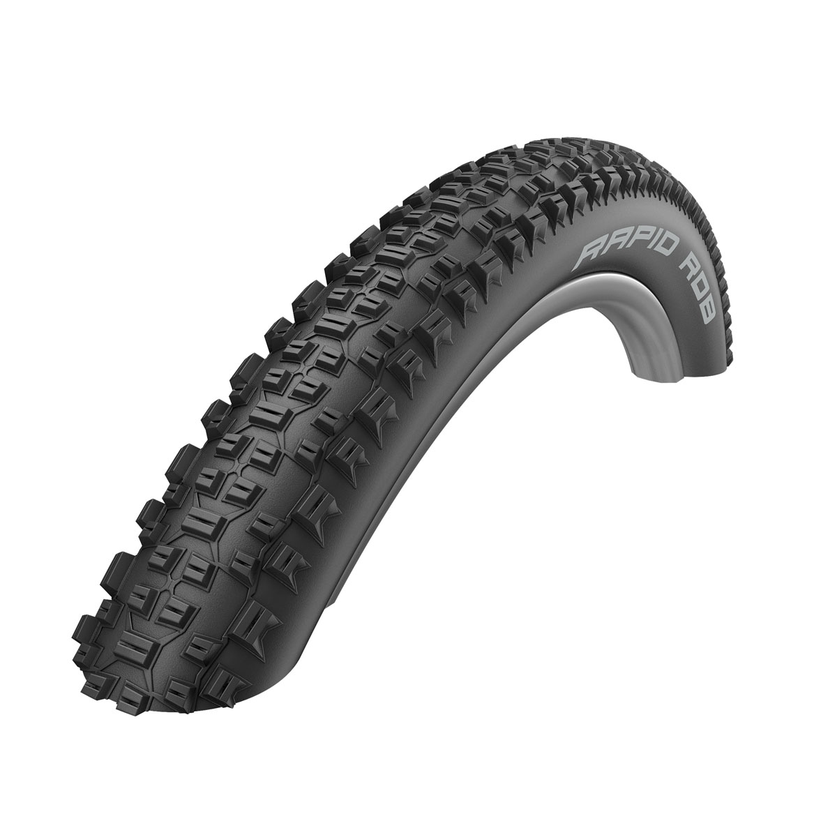 Schwalbe Rapid Rob HS 425 Mountain Bicycle Tire - Wire Bead (Black - 29x2.25)