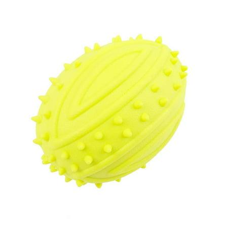 Pet Dog Toy Molar Stick Barbed Tpr Leaker Bite-Resistant Toy Teeth Ball - image 1 de 7