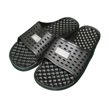 b7c28a401f9 DormCo - Anti-Slip Men s Shower Sandal (The Original Drainage Hole Sandal)  - Walmart.com