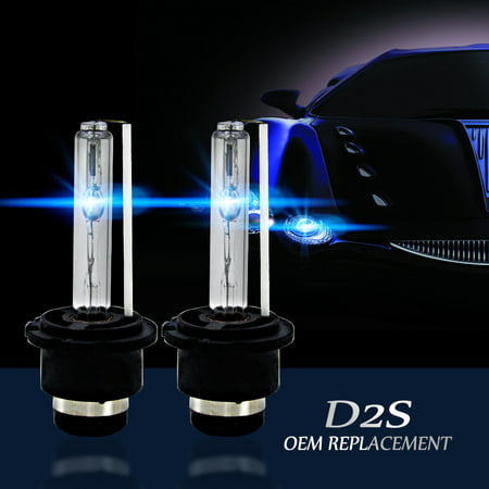 4300k/5000K/6000K/8000K/10000K/12000K D2S D2R D2C HID Xenon Bulbs Replace/Replacement Factory HID Headlight Pair 12 Inch Xenon 2 Light