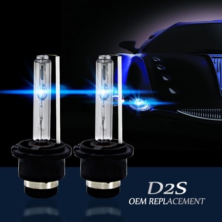 4300k/5000K/6000K/8000K/10000K/12000K D2S D2R D2C HID Xenon Bulbs Replace/Replacement Factory HID Headlight Pair 1995 Xenon Headlight Bulbs