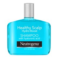 Neutrogena Hydrating Shampoo for Dry Scalp & Hair with Hyaluronic Acid, Healthy Scalp Hydro Boost, Sulfate-Free Surfactants, Color-Safe, 12 fl oz