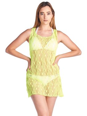81838ddc78c Product Image Women s Spider Tank Swimwear Cover-up Beach Dress Made in the  USA. SHORE TRENDZ