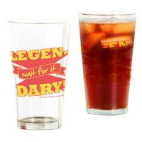CafePress HIMYM Legendary Pint Glass, Drinking Glass, 16 oz. CafePress