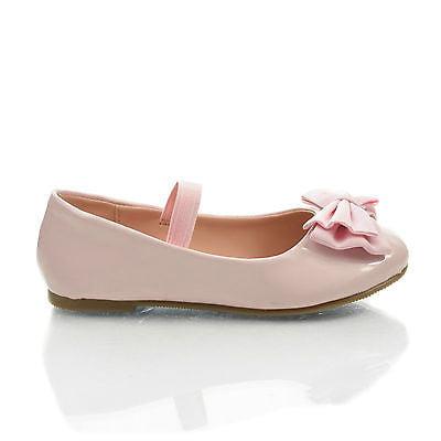 JessieIISQ by Happy Soda, Infant Girl's Mary-Jane Round Toe Ballet Flats w Bow. New Shoes
