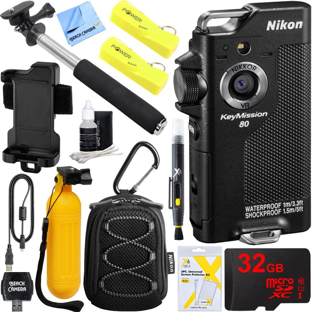 nikon keymission 80 waterproof hd wearable wifi action