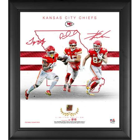 Kansas City Chiefs Framed 15