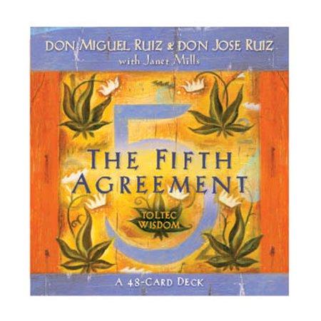 The Fifth Agreement : A 48-Card Deck, plus Dear Friends card