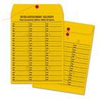 Quality Park Brown Kraft String & Button Box-Style Interoffice Envelope, 10 x 13, 100/Box ()
