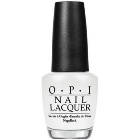 OPI Nail Lacquer, Alpine Snow, 0.5 Fl Oz