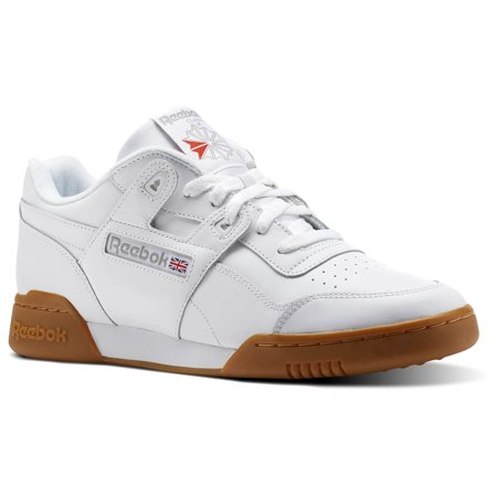 Reebok CN2126 : Workout Plus White Gum Classic Men Shoes Sneakers Trainers