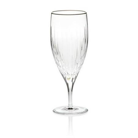 Reed & Barton Set of 2 Soho Iced Tea Glasses, Clear, - Reed Barton Stemware