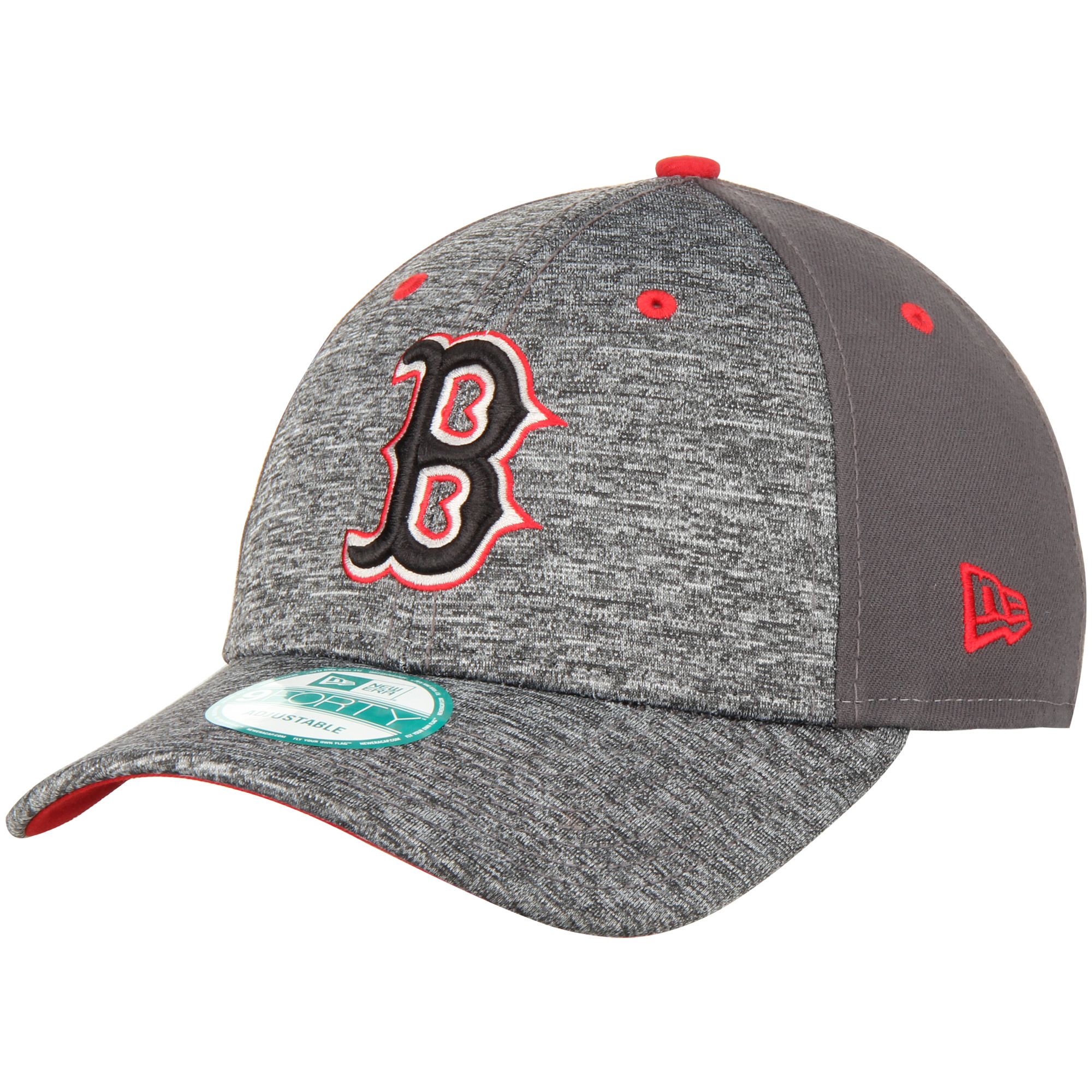 Boston Red Sox New Era The League Shadow 9FORTY Adjustable Hat - Heathered Gray - OSFA