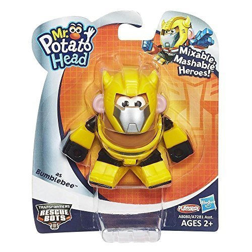 Mr. Potato Head Transformers Mixable, Mashable Heroes as Bumblebee Robot by, By Playskool by