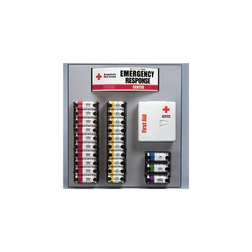 American Red Cross Rc-3000 Emergency Response Center with Large General Business Smartcompliance Cabinet