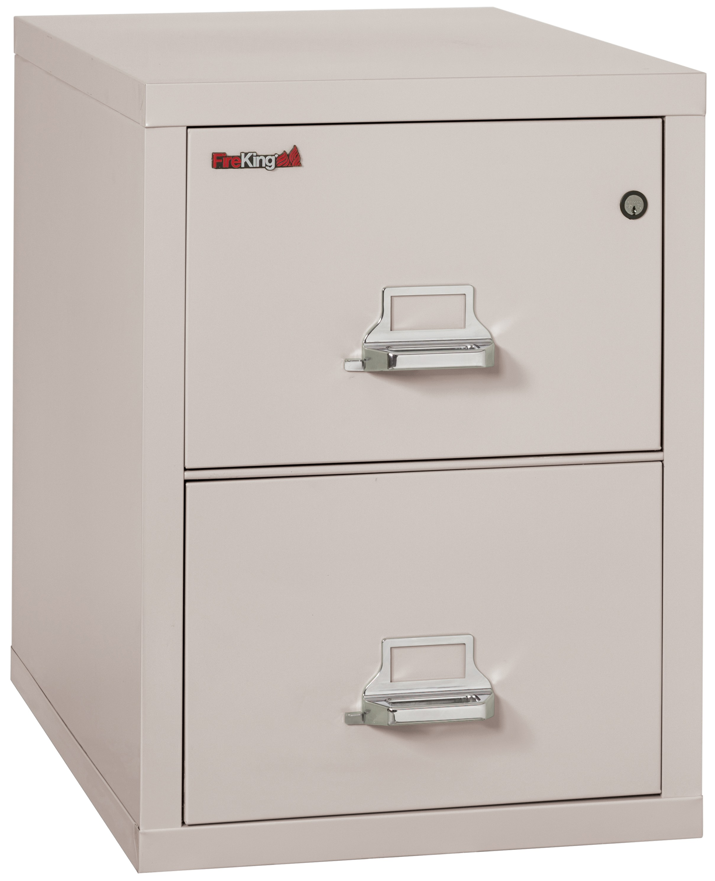 1 Hr Fireproof 2 2131 CPL Industrial Armoires Modern Office Filling Cabinet  Platinum Vertical