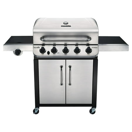 Combination Gas Grill - Char-Broil Performance™ 5 Burner Gas Grill