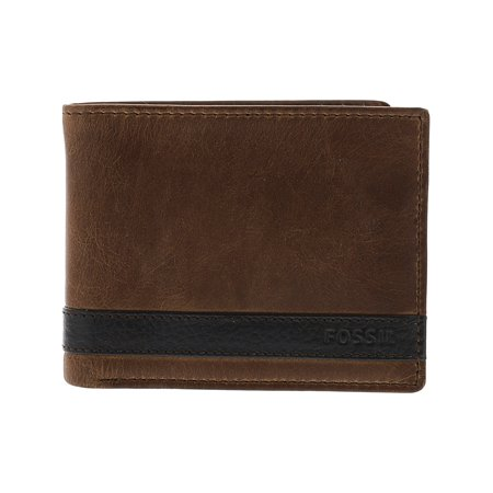 Fossil Men's Quinn Passcase Leather Wallet -