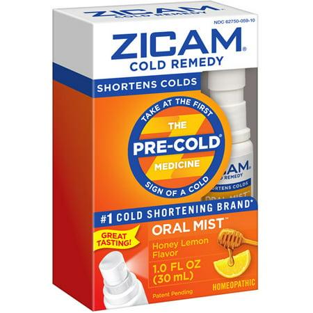 Zicam Honey Lemon Cold Remedy Plus Oral Mist, 1 fl oz