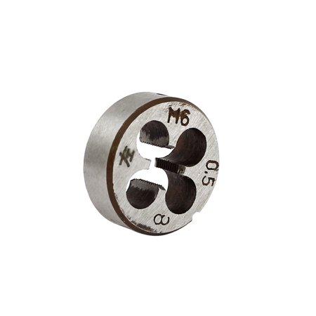 M6 x 0.5 mm de diamètre extérieur 20 mm métrique en acier de diamètre de filetage filetage rond Die Outil de coupe - image 2 de 2