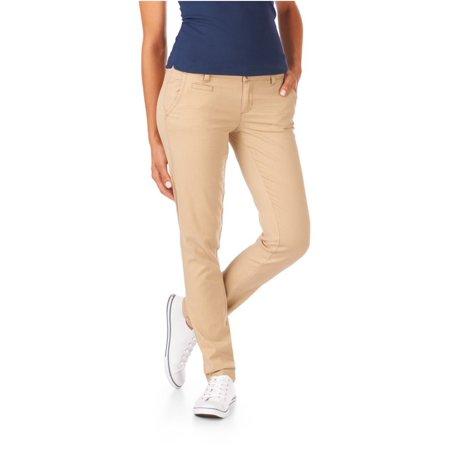 Aeropostale Juniors Skinny Twill Pants Casual Trousers