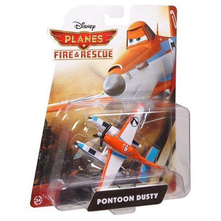 Disney Planes Fire and Rescue Dusty with Pontoons Die-Cast Vehicle Mattel Toy Car
