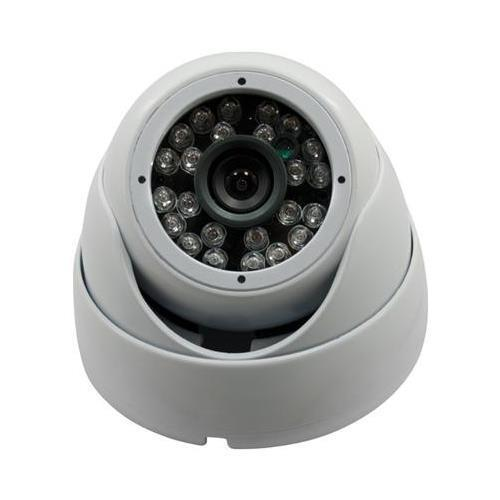 Vonnic VCD5031W White Dome Outdoor Night Vision 1/3inch Sony CCD Camera