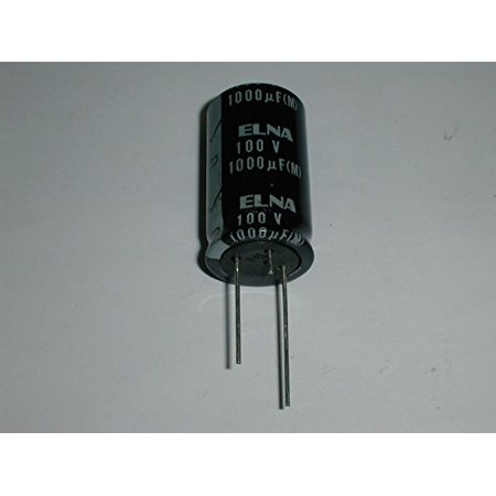 Mfd 100v Radial - ELECTROLYTIC CAPACITOR 1000UF 100V 25X40MM RADIAL LEADS ( 1 EACH) - RE2-100V102M