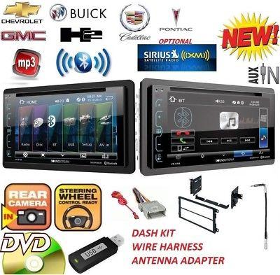 FITS GM CAR-TRUCK-VAN-SUV Cd Dvd AUX BT Bluetooth Radio Stereo OPTIONAL SIRIUSXM