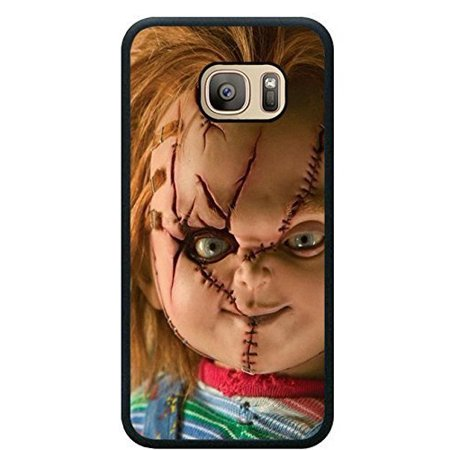 Scary Dolls For Sale (Ganma Case For Samsung S8 (5.8 inch) TPU Cases Designed with Scary Chucky Doll Black TPU Case For Samsung Galaxy S8 (5.8)