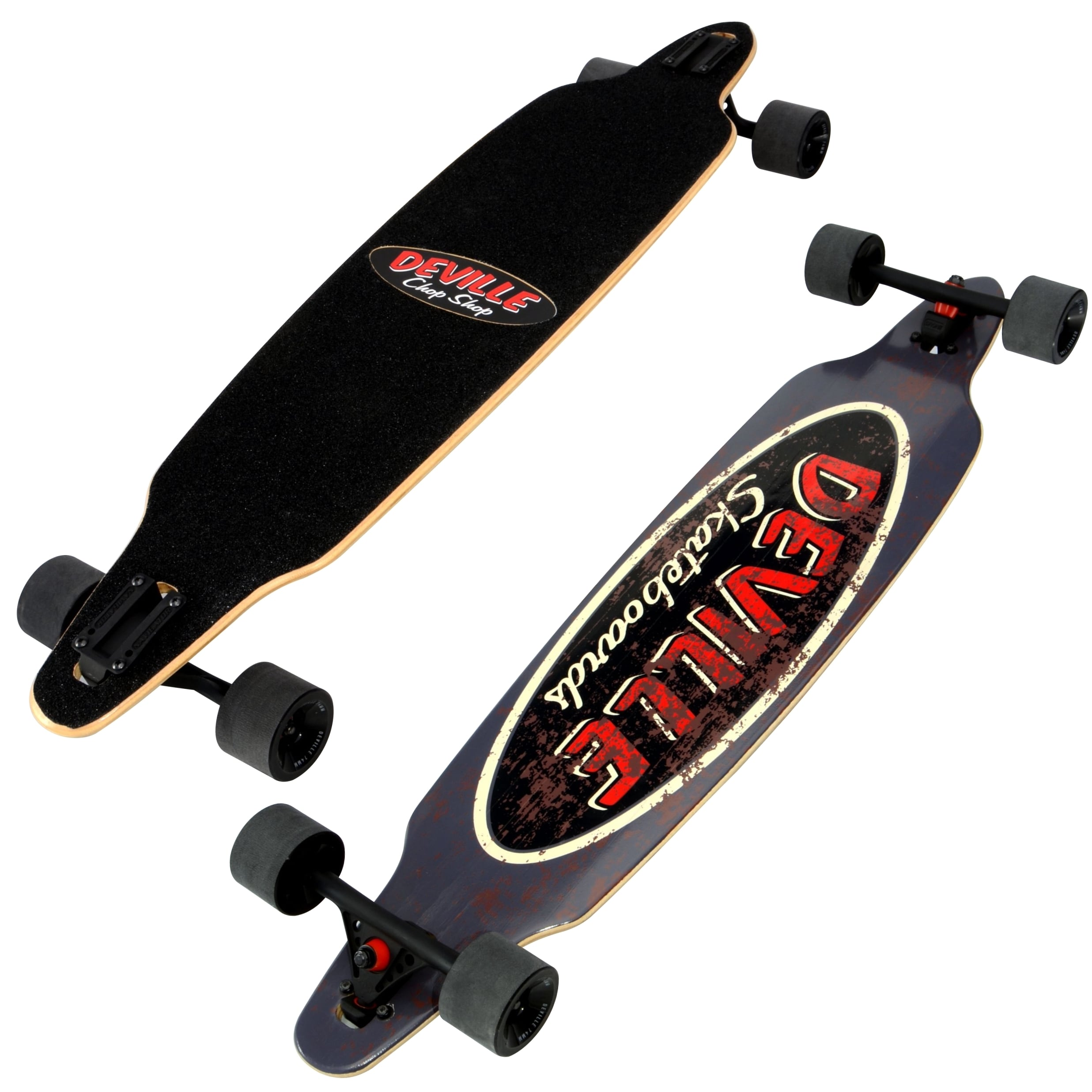 "Deville Longboard 41.4"" Drop-Through Rat Rod by Deville"