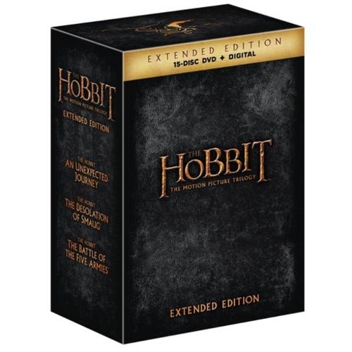 The Hobbit: Motion Picture Trilogy (Extended Edition) (DVD + Digital Copy With UltraViolet) (With INSTAWATCH) (Widescreen)
