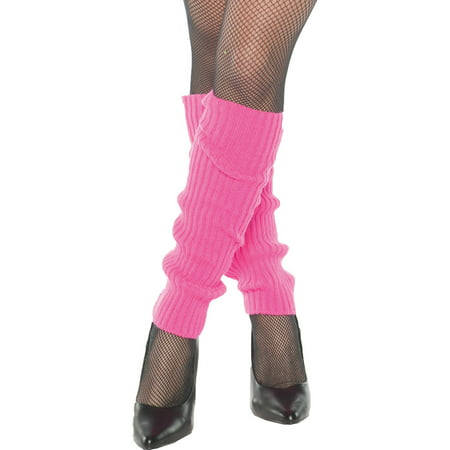 Leg Warmers Adult Halloween Accessory](Neon Yellow Leg Warmers)