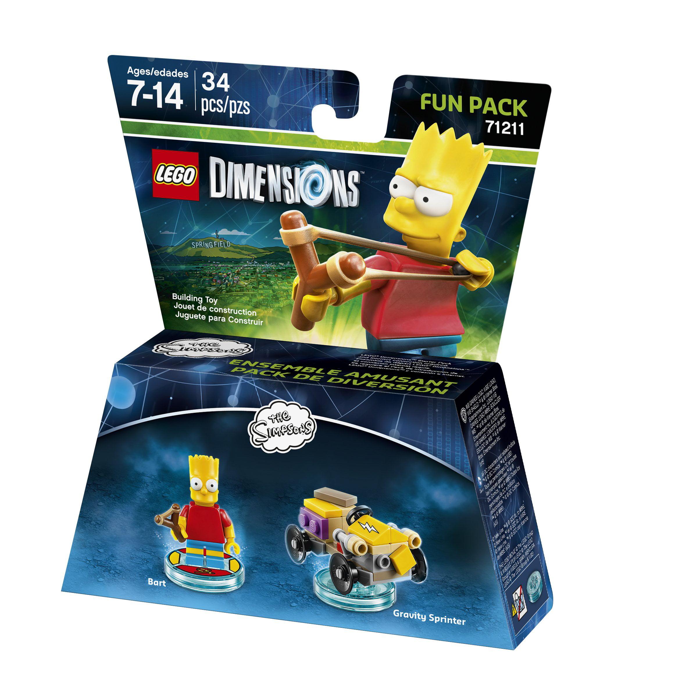 The Simpsons Packuniversal Lego Fun Bart Dimensions mw0N8n