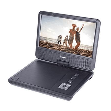 "Sylvania SDVD9070-B 9"" Swivel Screen Portable DVD Player - Manufacturer Refurbished"