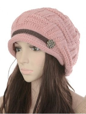 c0f87de3b6f Product Image Soft Warm Wool Hat Cap Winter Fleeced Inside Thick Ear Flaps  Women Fashion