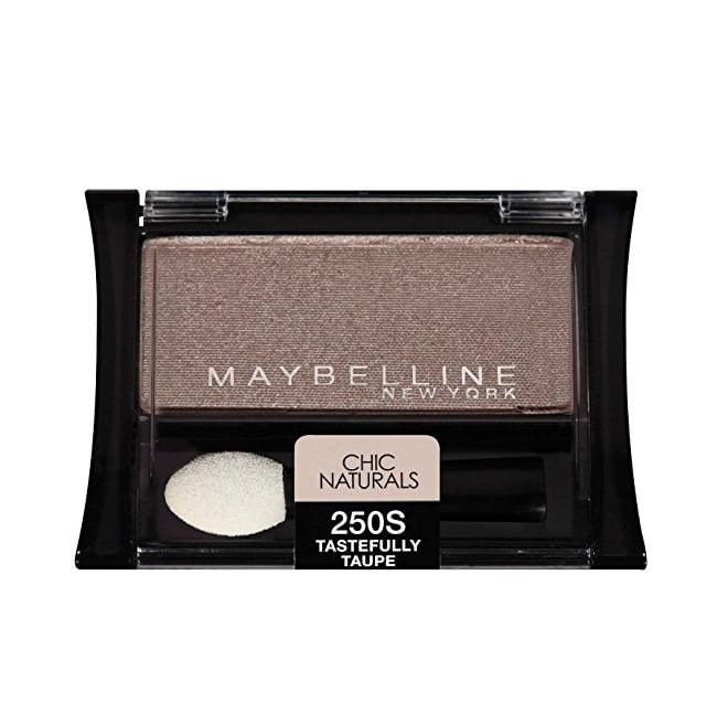 Maybelline New York Expert Wear Eyeshadows, Chic Naturals 250s Tastefully Taupe, 0.09 Oz