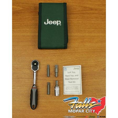2007-2018 Jeep Wrangler JK Hard Top & Door Install & Removal Tool Kit Mopar (2013 Jeep Wrangler 2 Door Hardtop For Sale)