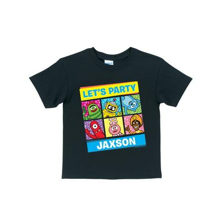 Personalized Yo Gabba Gabba Let's Party Toddler T-Shirt, - Yo Gabba Gabba Invitations