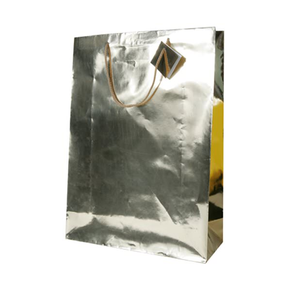 JAM Foil Shopping Bags with Metal Handles - X-Large - 12 ...