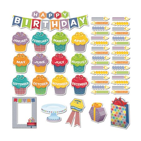 Creative Teaching Press CTP6958 Happy Birthday Mini Bulletin (Center Signs Mini Bulletin Board)