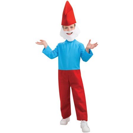 Child Papa Smurf Costume - Papa Smurf Halloween Costume