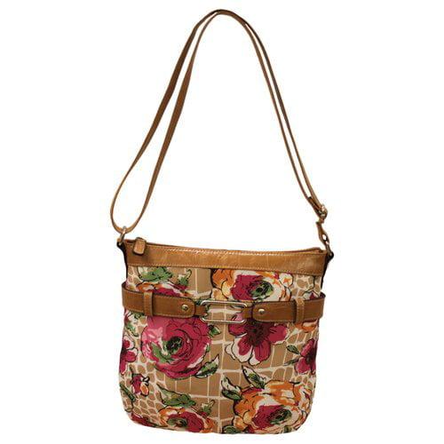 George Cross-Body Handbag, Floral