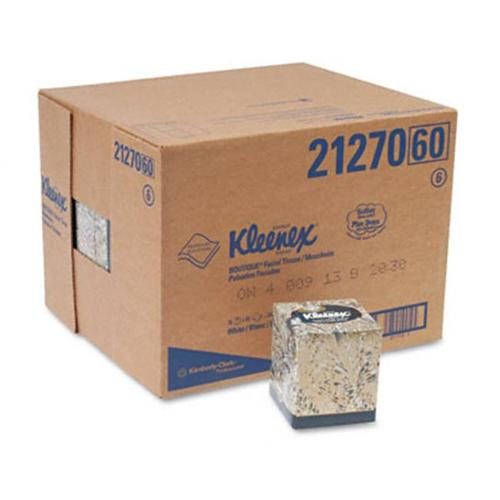 Kimberly-Clark 21270CT KLEENEX Facial Tissue in Boutique Pop-Up Box  95 per Box  36 Boxes per Carton